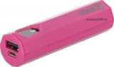Power Bank 2500 mAh Rosa